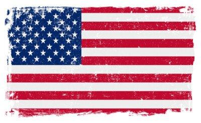 Sticker USA, drapeau, vecteur, modèle