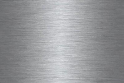 Sticker Vecteur d'acier inoxydable brossé
