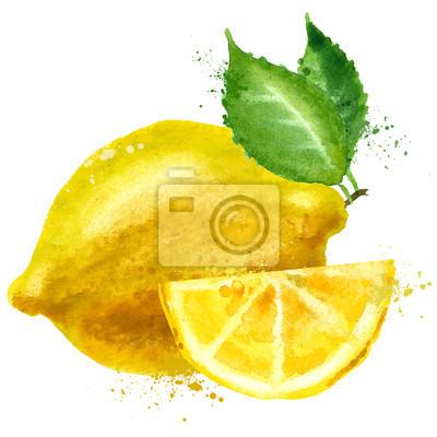 vecteur de citron de modèle de conception de logo. fruits ou l'icône de la nourriture.