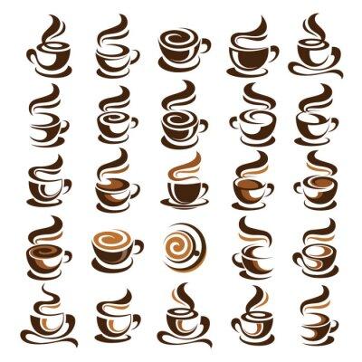 Sticker Vecteur de tasse de café