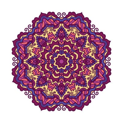 Sticker Vecteur, mandala, ornement