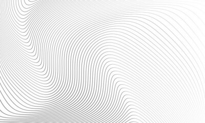 Sticker Vector illustration of the pattern of the gray lines abstract background. EPS10.