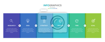 Sticker Vector infographic label template with icons. 6 options or steps. Infographics for business concept. Can be used for info graphics, flow charts, presentations, web sites, banners, printed materials.