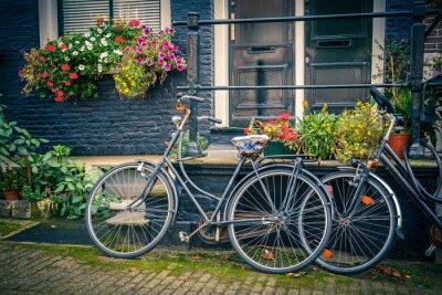 Sticker Vélos à Amsterdam