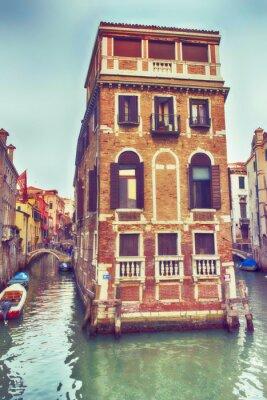 Sticker Venezia, palazzo nel canale.