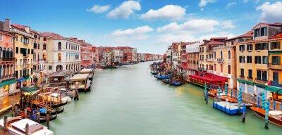 Sticker Venice - Rialto bridge and Grand Canal
