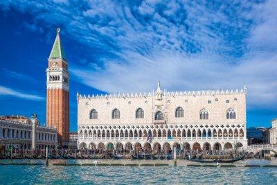 Sticker Venise avec Place Saint-Marc en Italie
