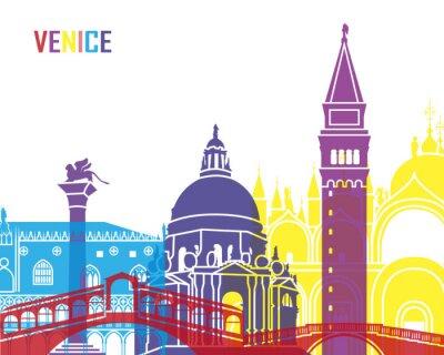 Sticker Venise horizon pop