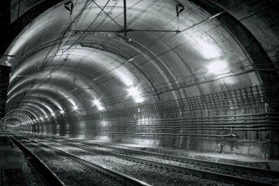 Sticker Vide, sous-marin, tunnel