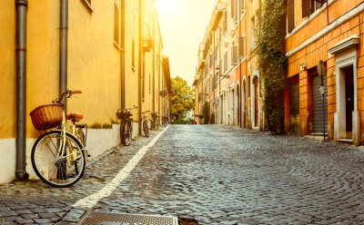 Sticker Vieille rue de Rome, Italie