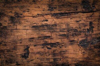 Sticker Vieux fond de texture de planche de bois. Texture altérée naturelle de planches de bois.