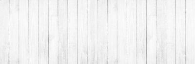 Sticker Vieux fond de texture du bois blanc.