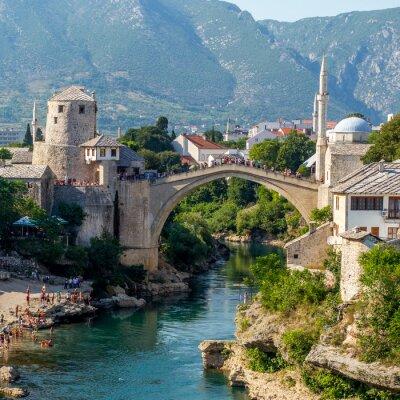 Sticker Vieux, pont, Mostar