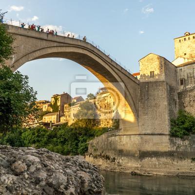 Vieux, pont, Mostar
