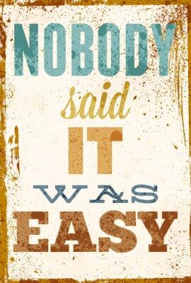 Sticker Vintage illustration de vecteur de la typographie avec des effets grunge.