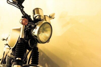 Sticker Virage moto vintage