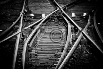 Voies à rail