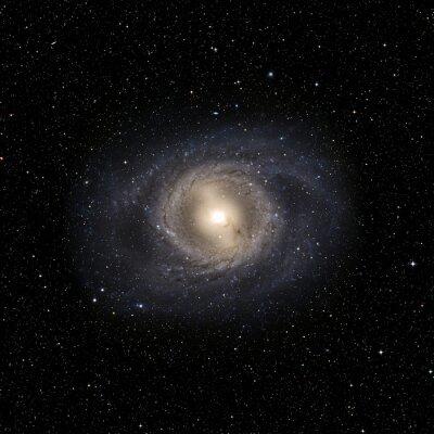 Sticker Voir le système Galaxy isolé Éléments de cette image fourni par la NASA