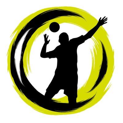 Sticker Volley-ball - 101