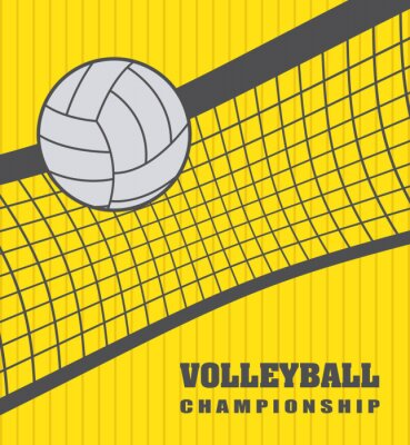 Sticker volley ball