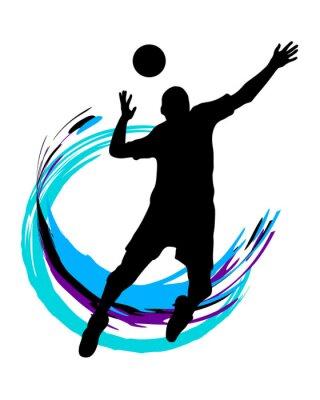 Sticker Volley-ball - 89