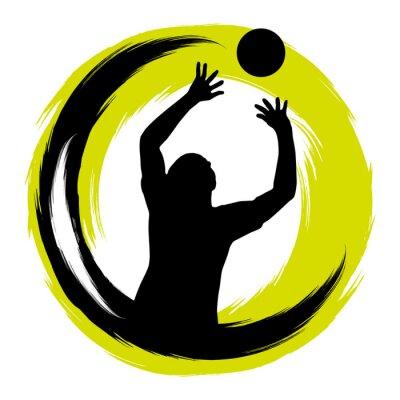 Sticker Volley-ball - 99