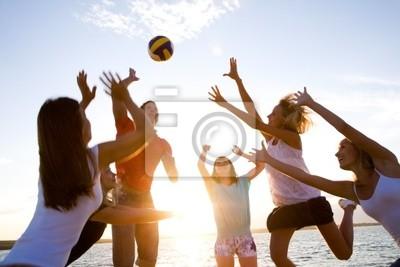 volley-ball sur la plage