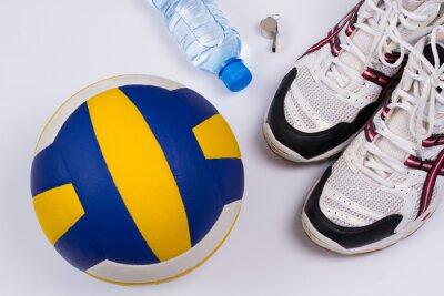 Sticker Volleyball réglé.