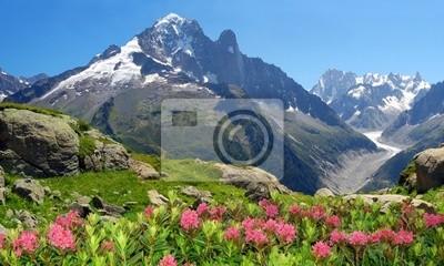 Vue de la Savoie Alpes-Europe