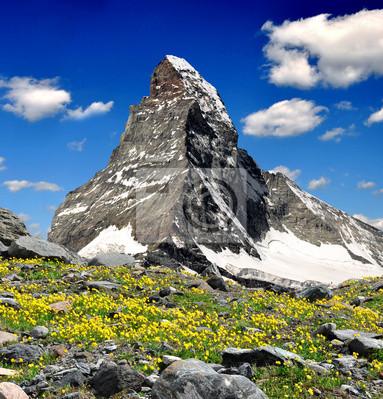 vue sur le Cervin - Alpes suisses