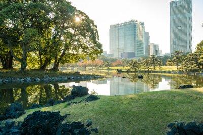 Sticker Vue, tokyo, cityscape, Parc