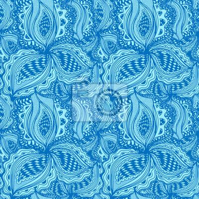 Wallpaper seamless abstraite élément floral