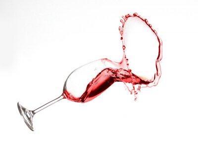 Sticker Wein Splash