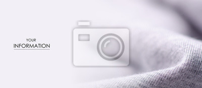 Sticker White gray fabric material textile texture pattern macro blur background