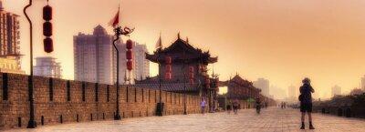 Xi'an / Xian (Chine) - Paysage urbain