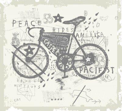 Sticker Велосипед