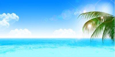 Sticker 海 夏 風景 背景