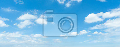 Sticker 青空・雲
