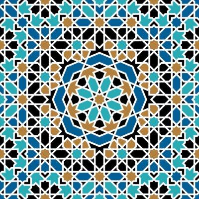 Sticker Zagora Seamless Pattern Trois