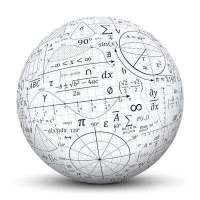 Tableaux Kugel Mathematiques Icone Symbole Math Sphere 3d Formeln No 225213F on Superheroes Worksheets Line