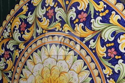 table en pierre de lave peintures pour le mur tableaux caltagirone mail sicile. Black Bedroom Furniture Sets. Home Design Ideas